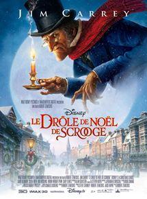 Affiche du film Le drôle de Noël de Scrooge (Disney 2009)