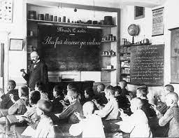 Classe de garçons au temps de Jules Ferry
